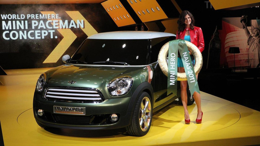 MINI Paceman concept approved for production