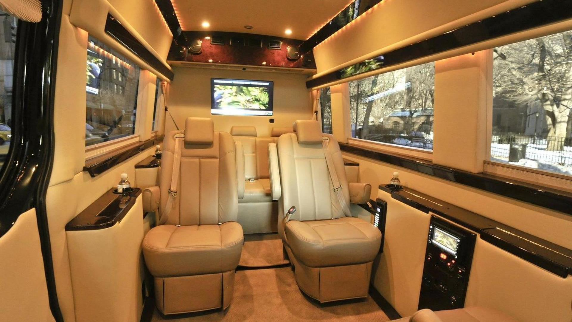 Mercedes Benz Sprinter Transformed Into Luxury Cruiser By Brilliant Van