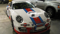 Porsche 997 Martini GT2 crashes in Finland, 800, 31.03.2011