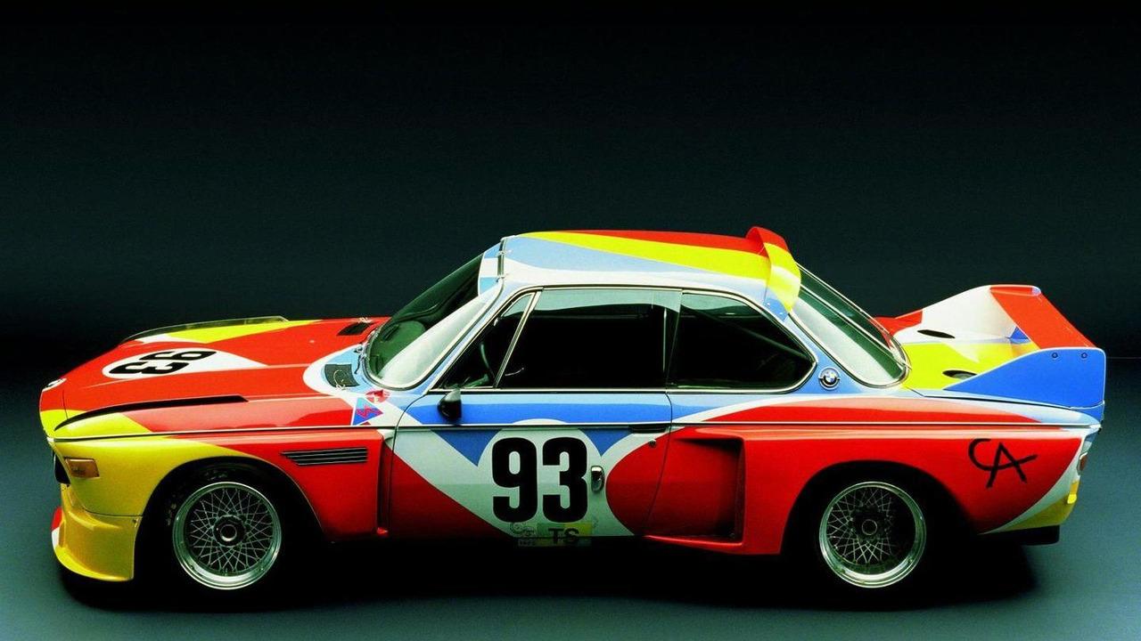 Alexander Calder (USA) 1975 BMW 3.0 CSL art car