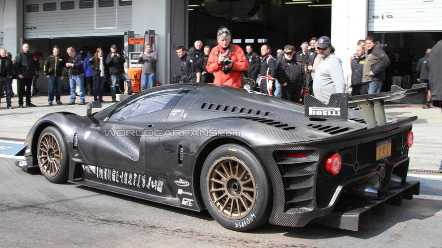 First photos of the P4/5 Competizione testing at the Nürburgring [videos]