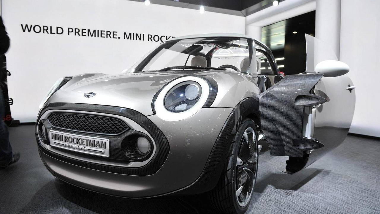 MINI Rocketman concept live in Geneva