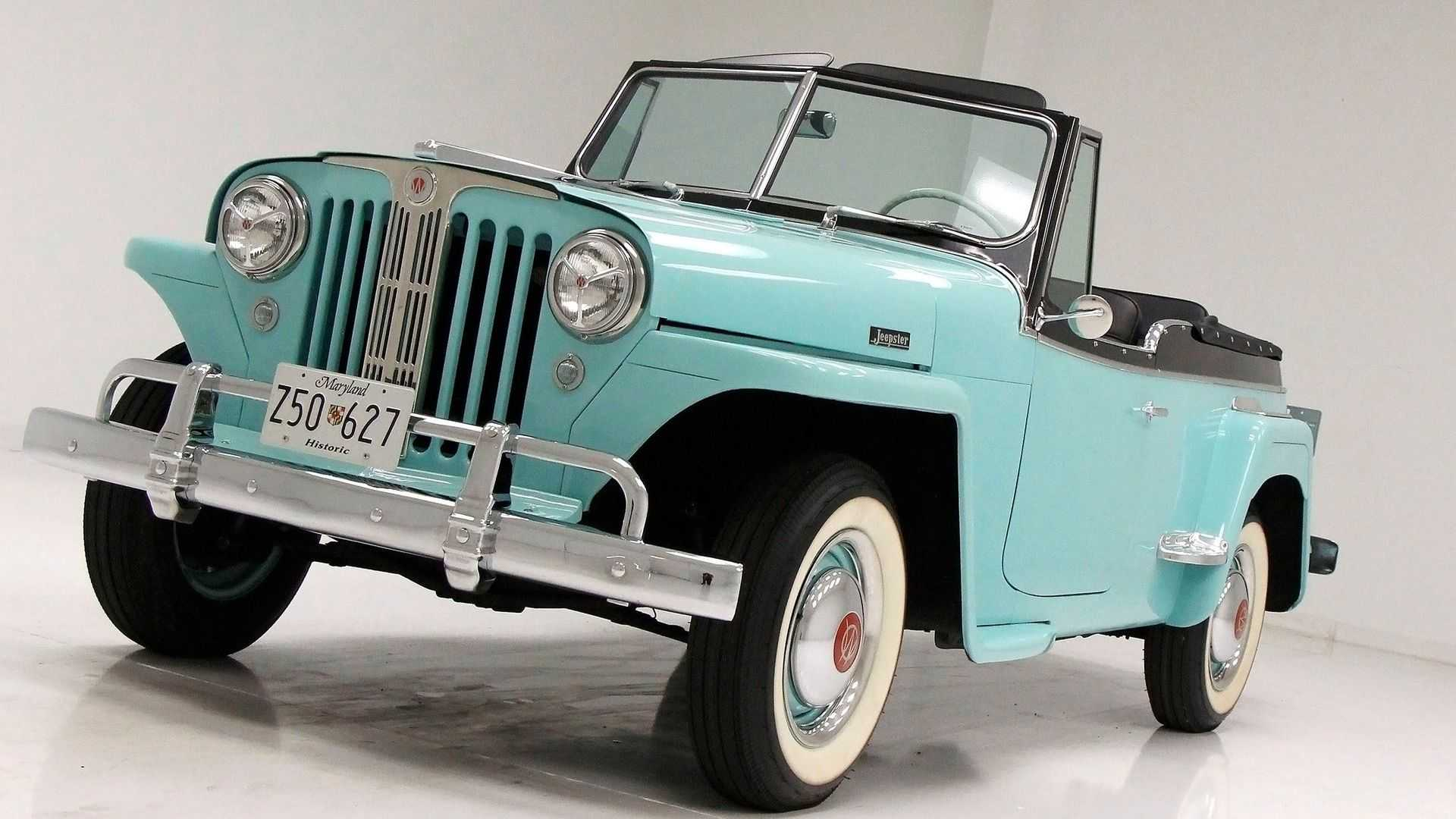"[""1949 Willys Jeepster Provides Sporty Freedom""]"
