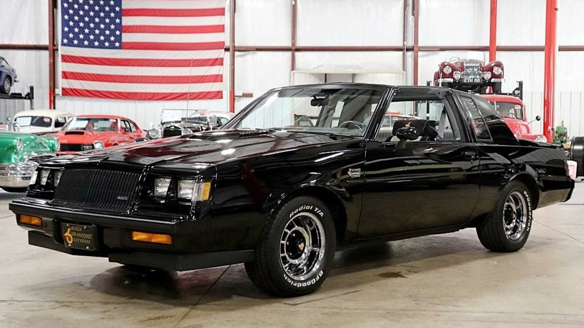 """[""""1987 Buick Grand National Is The Performance Car You Crave""""]"""