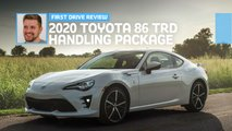 2020 toyota 86 trd handling package first drive