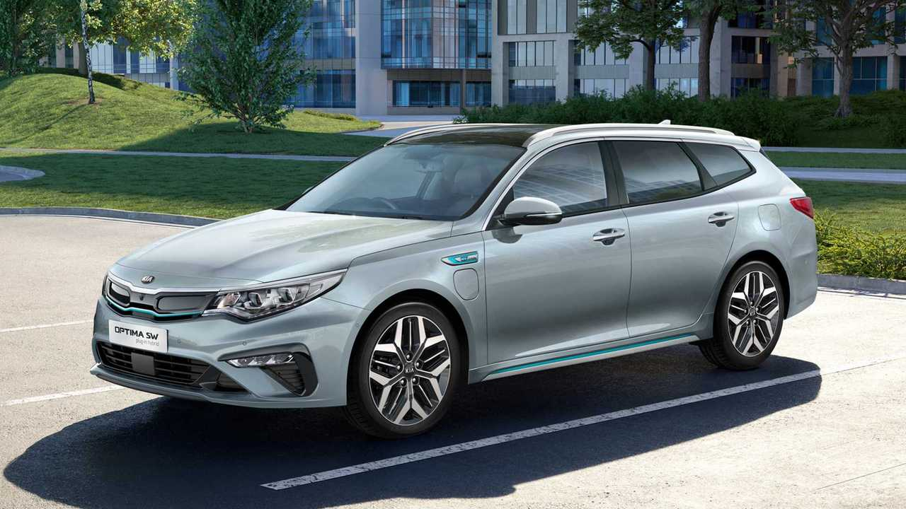 Best PHEVs - 2nd - Kia Optima Sportwagon PHEV