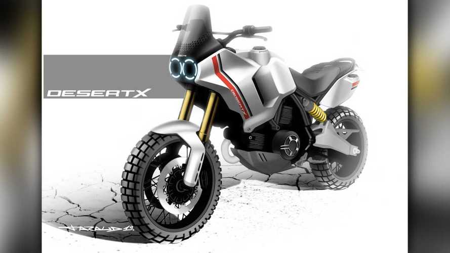 Ducati Shares Render Of Upcoming New Scrambler Desert X Concept
