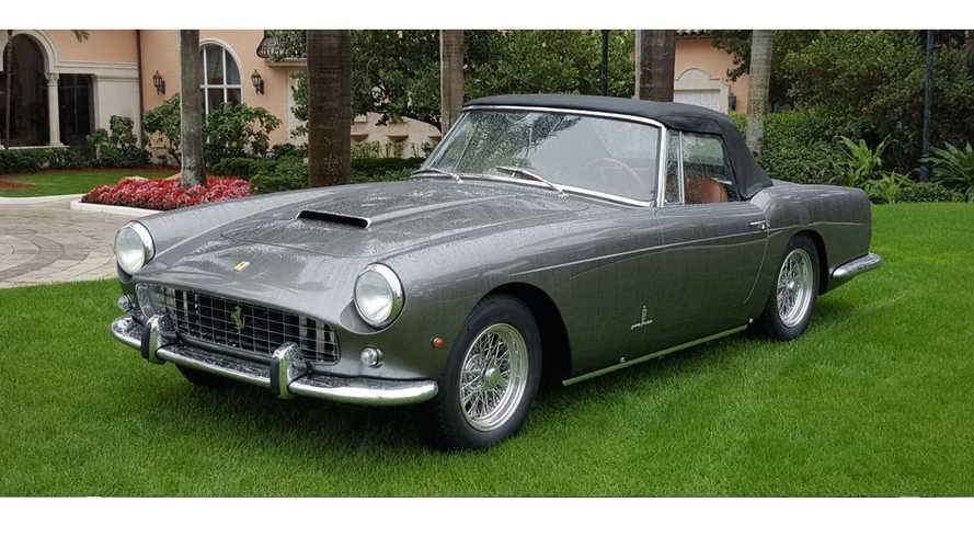 Fully Restored 1960 Ferrari 250GT Cabriolet Is A Work Of Art