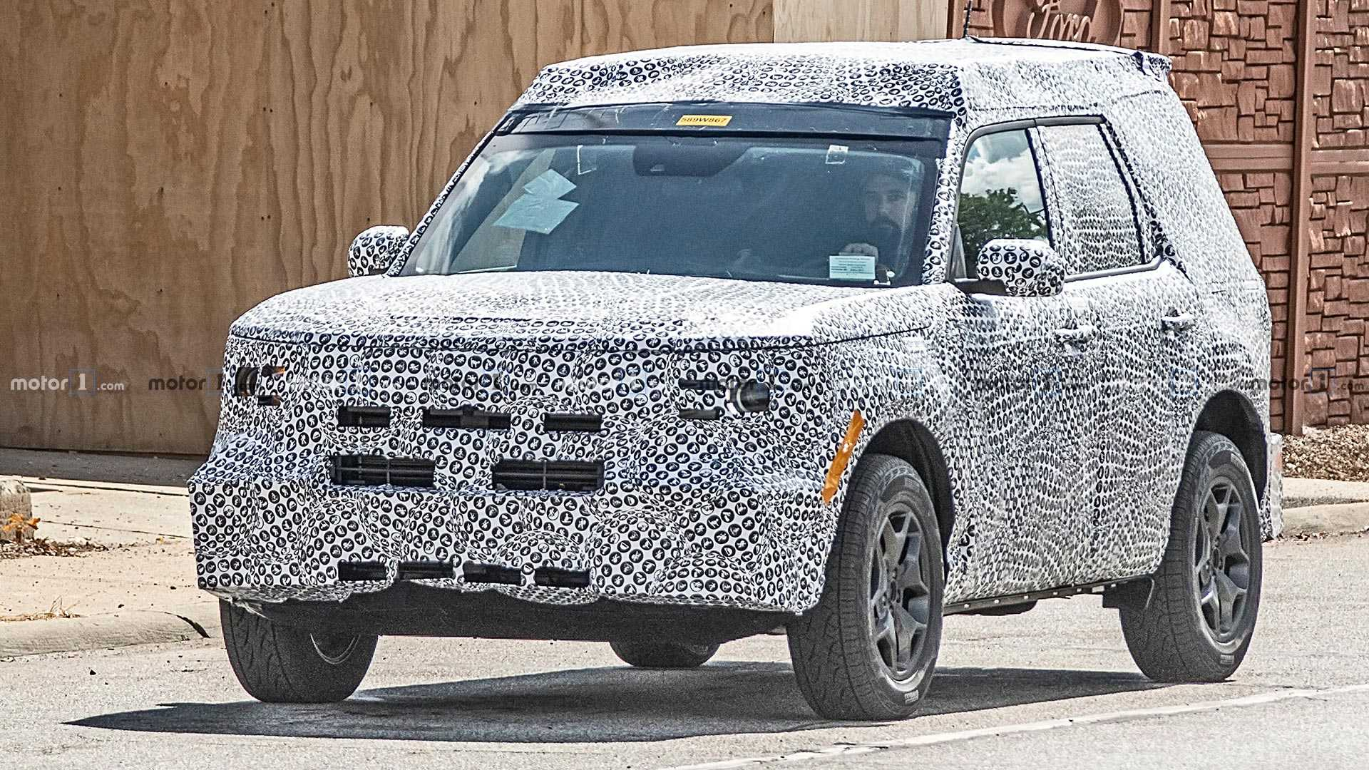 2019 - [Ford] Baby Bronco - Page 2 Ford-baby-bronco-spy-shots