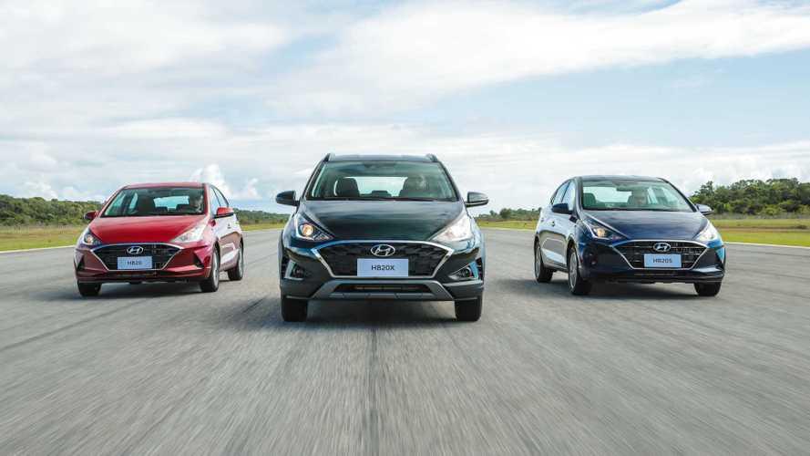 Novo Hyundai HB20 2020: versões, itens de série e preços