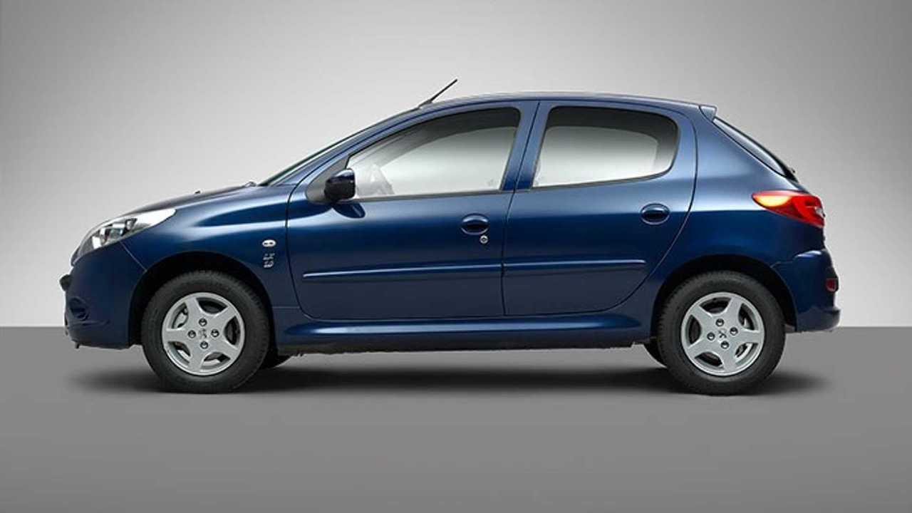 Peugeot 207 Irán