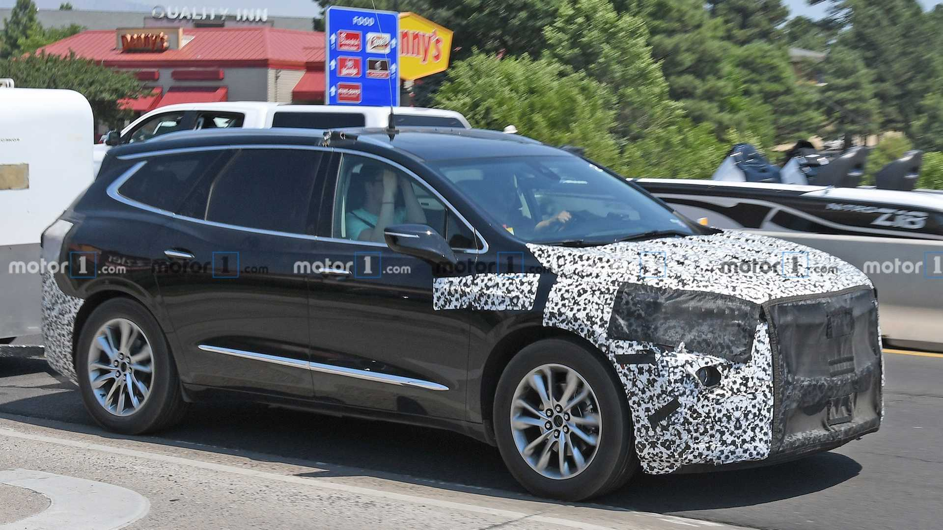 2018 Buick Enclave: Redesign, Styling, New Engines, Price >> 2021 Buick Enclave Spied For The First Time