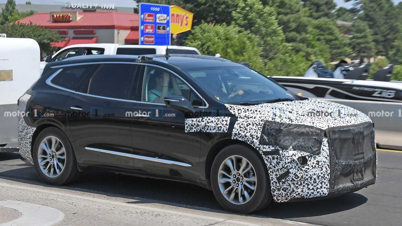 2021 Buick Enclave Spied For The First Time