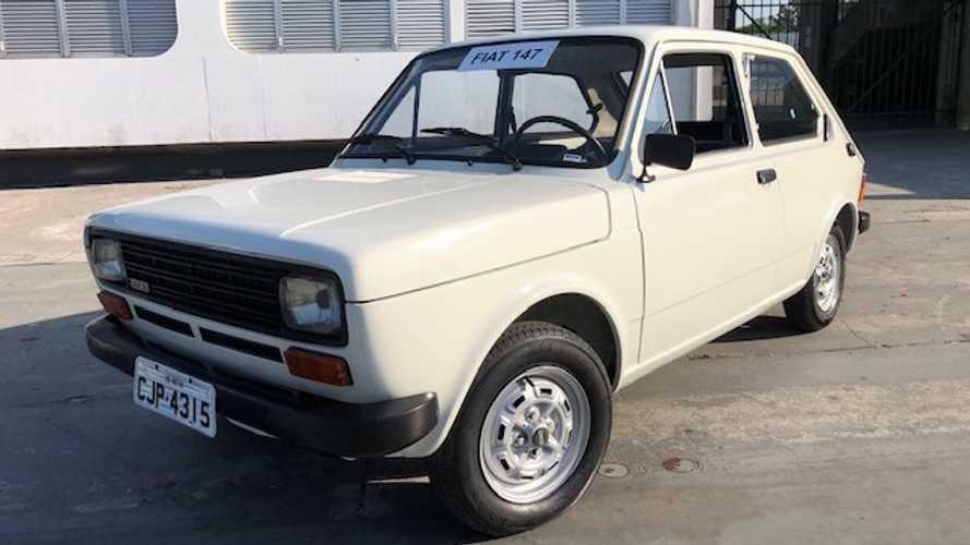 Collection: O dia que dirigi o Fiat 147 restaurado na fábrica de Betim