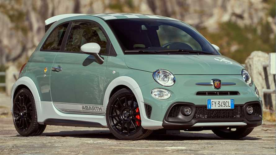 Abarth 695 70th Anniversary packs 180 hp, adjustable spoiler