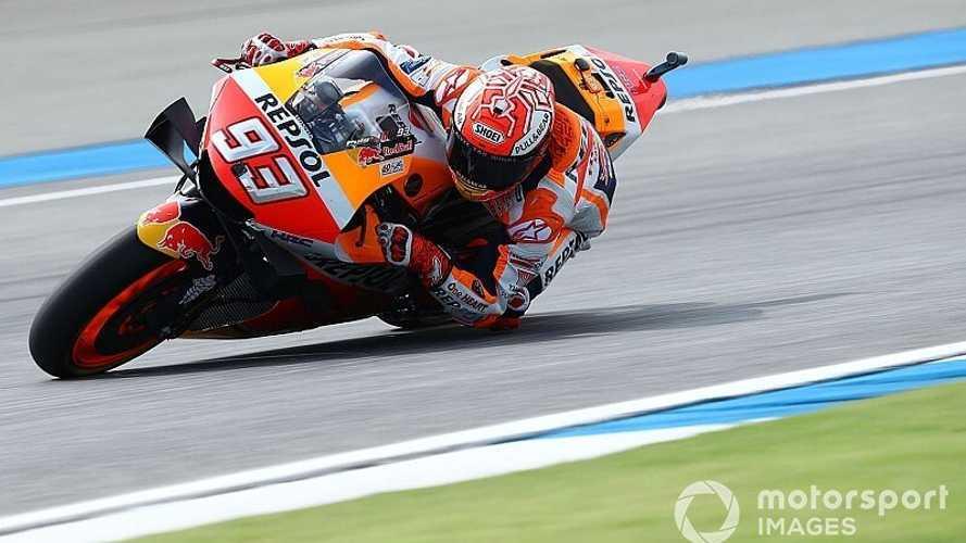 Marc Márquez se impone en Tailandia y logra su sexto título en MotoGP