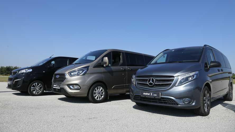 Mercedes-Benz vs. Peugeot vs. Ford 8+1 Ticariler | Drag Yarışı