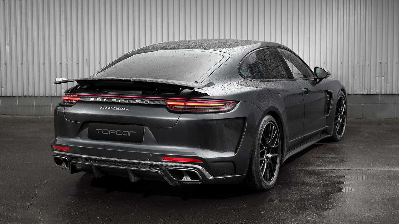 Porsche Panamera LWB - TopCar