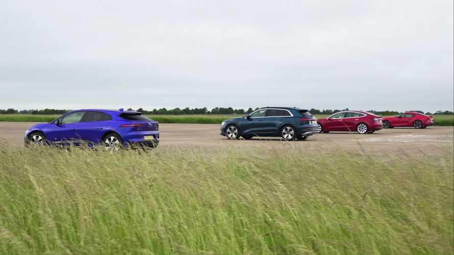 Videó: Elektromos autók ellen küldték csatába az új Toyota Suprát