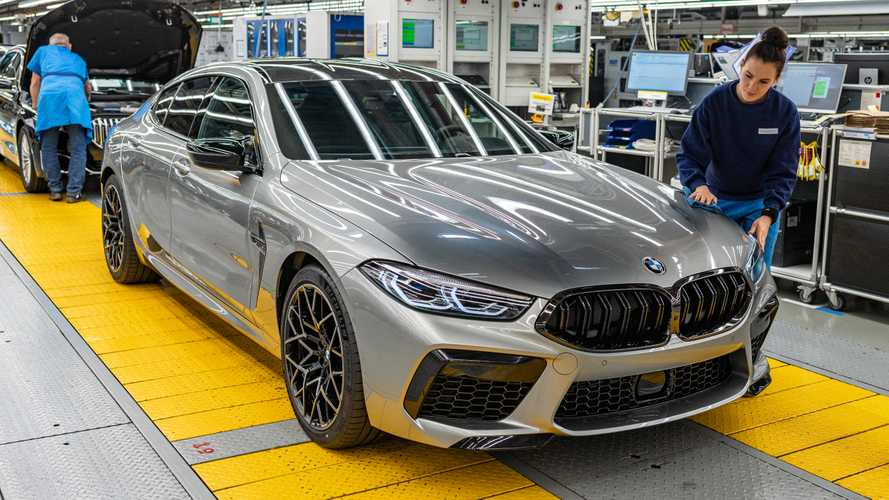 BMW M8 Gran Coupe enters production before heading to LA