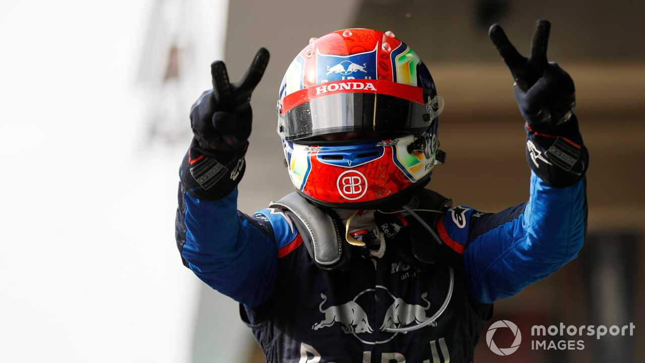 Pierre Gasly at Brazilian GP 2019