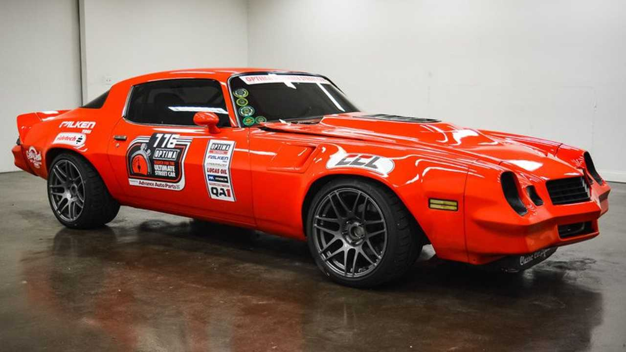 Tear Up The Streets In This Pro-Touring 1979 Chevrolet Camaro Z28
