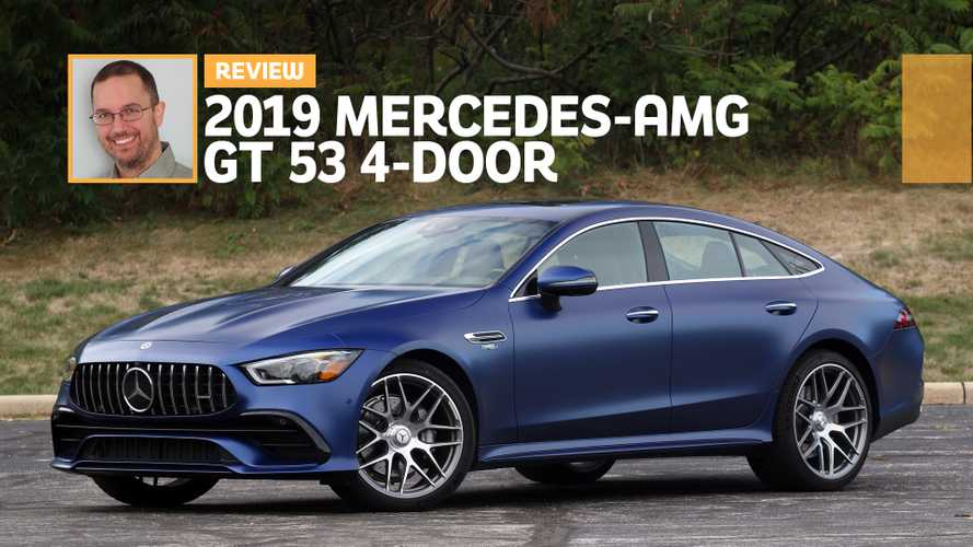2019 Mercedes-AMG GT 53 4-Door Review: Rapid Redundancy