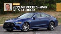 2019 mercedes amg gt53 4 door review