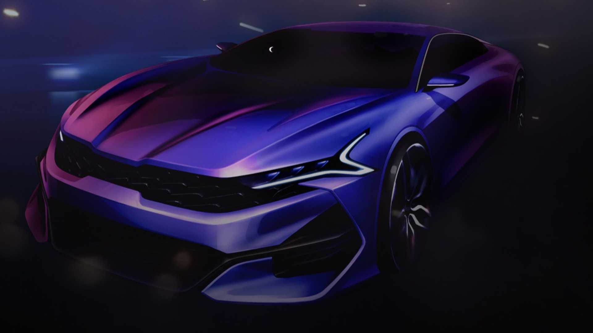 2021 Kia Optima Returns In Dramatic Design Sketches