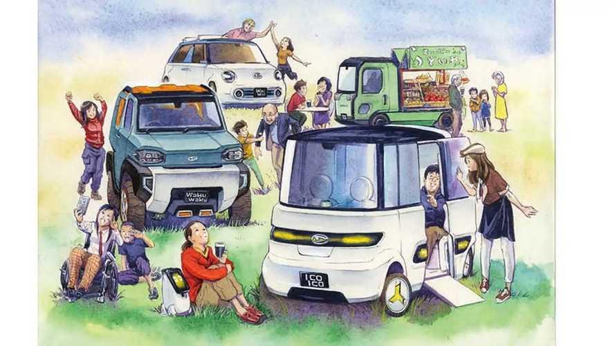 Daihatsu'nun Tokyo Otomobil Fuarı 2019'da Sergileyeceği Konsept Araçları