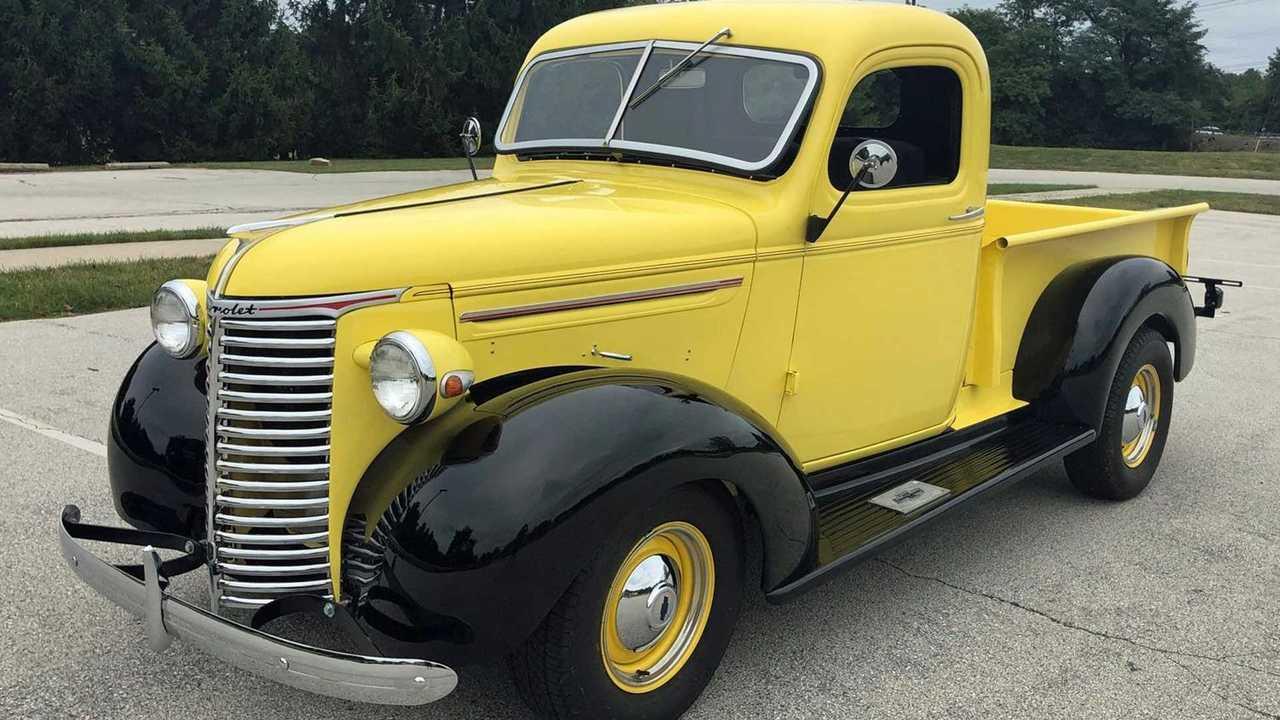 Go Bananas For This Freshly Restored 1939 Chevrolet Truck