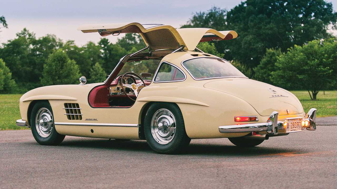 Mercedes 300 SL Gullwing (1955) - 2,3 миллиона евро
