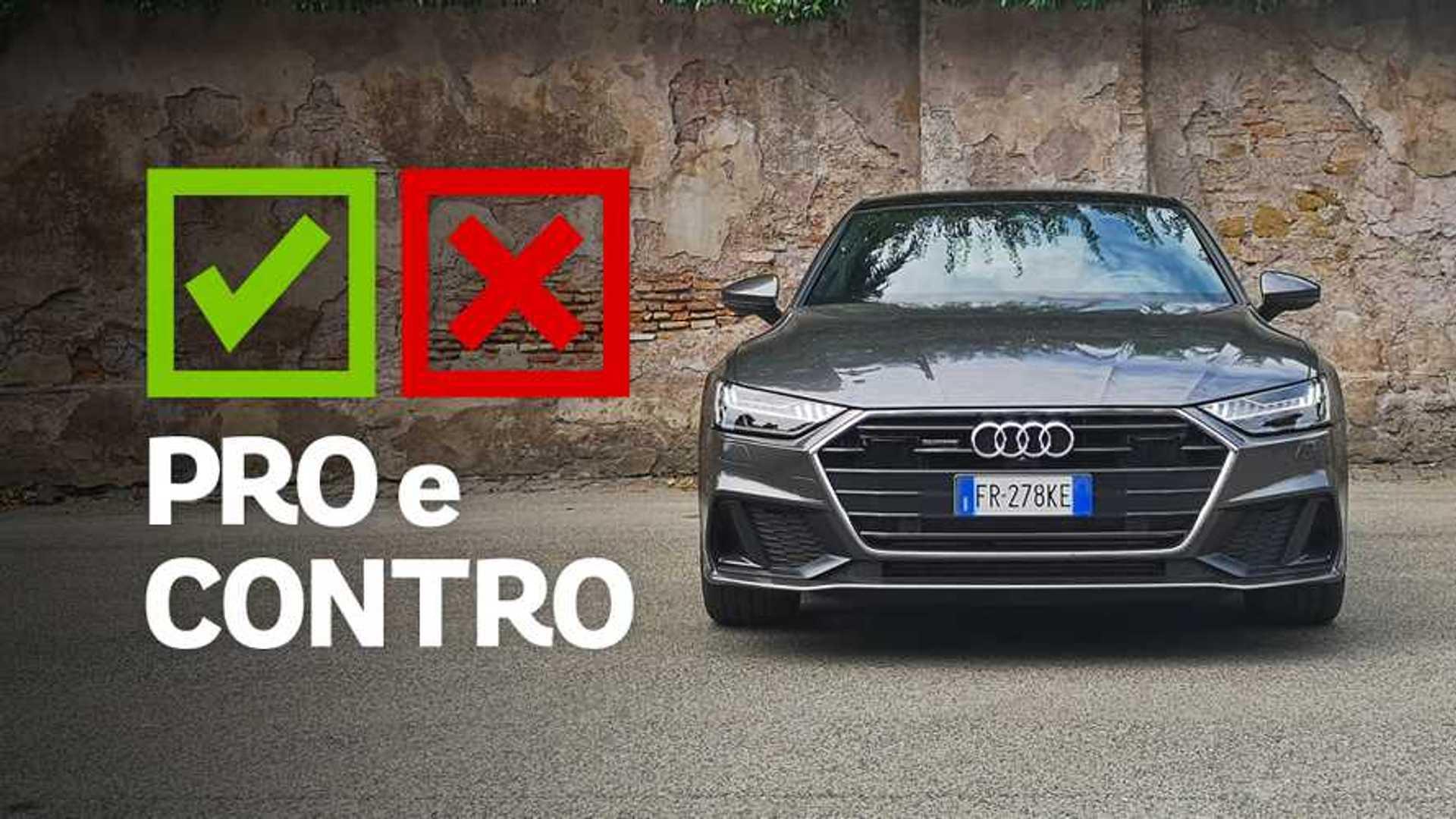 Audi A7 Sportback 50 TDI 3.0 quattro Business plus, pro e contro