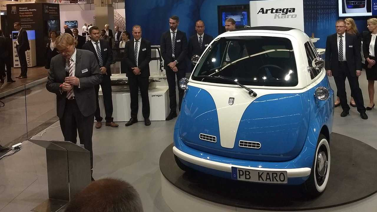 Usa Car Sales >> Oops!... Artega Did It Again: It Showed A Microlino As the Karo