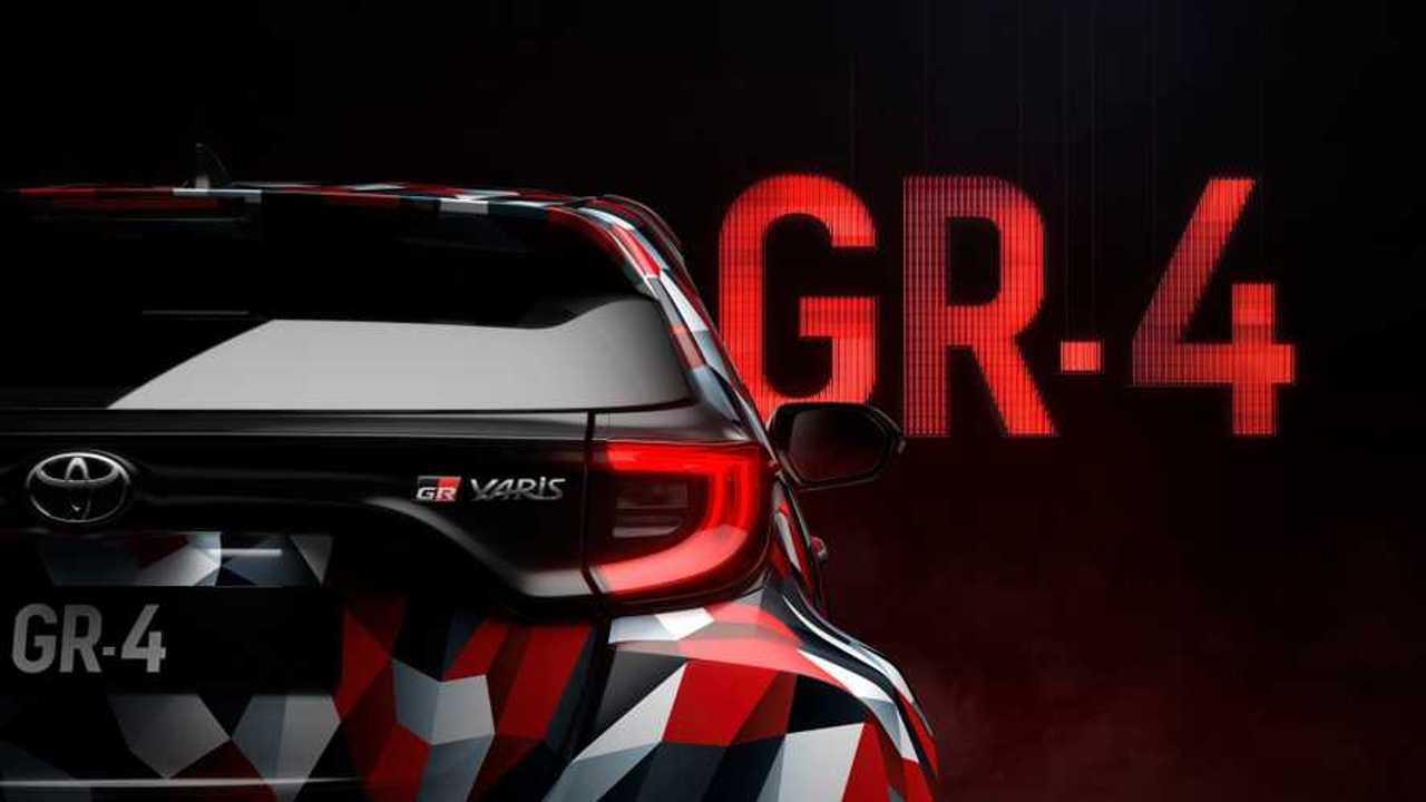 Toyota Yaris GR Prototype Teaser