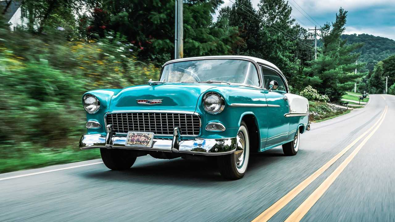 Take The Grand Tour With George Jones\' 1955 Chevy Bel Air