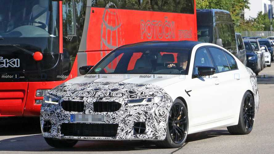 Kémfotókon a ráncfelvarráson átesett M5-ös BMW