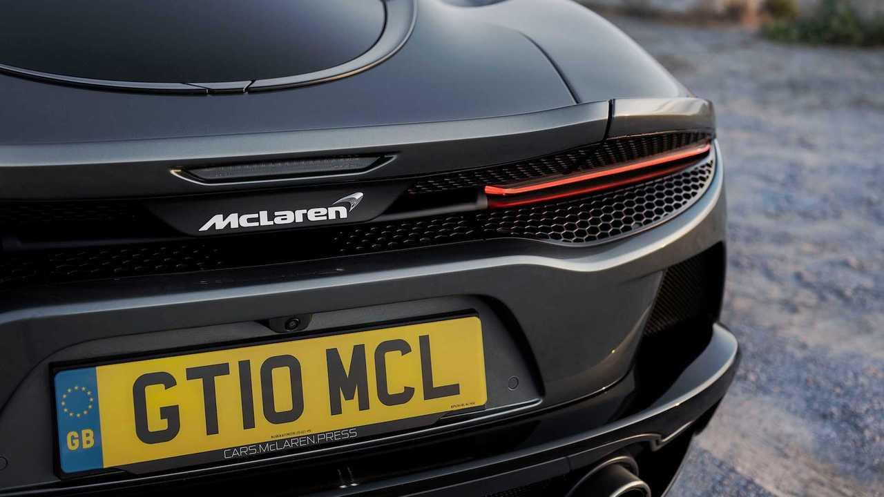 Первая поездка на McLaren GT