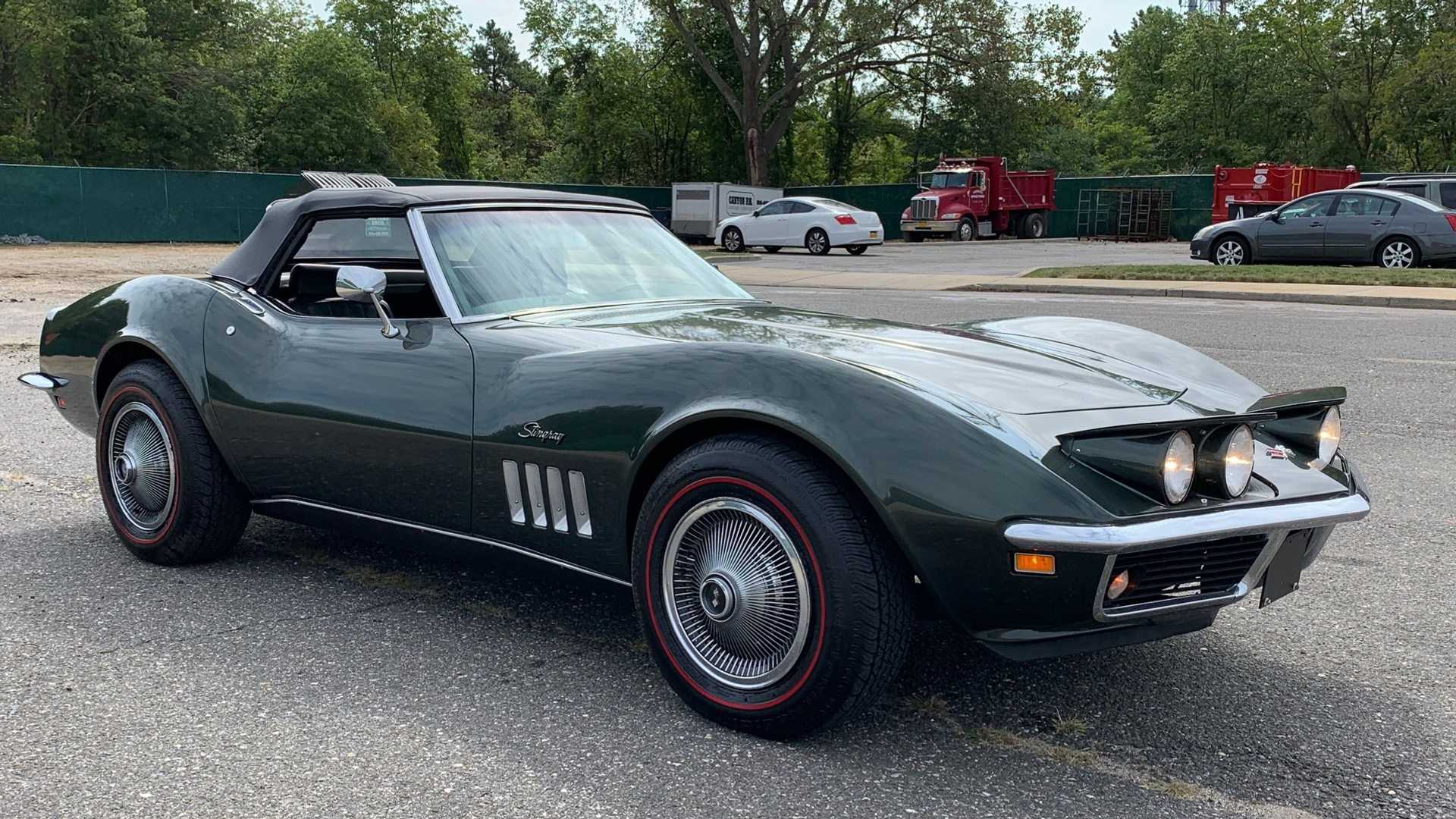 "[""Make Them Green With Envy In This 1969 Chevy Corvette 'Vert""]"