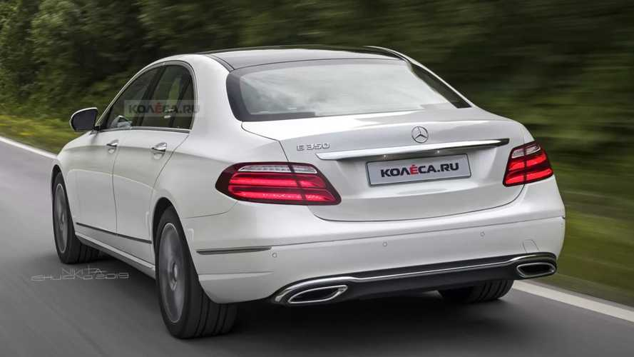 Mercedes-Benz E-Class facelift rendering