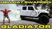 jeep gladiator hellcat acceleration video
