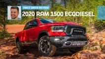 2020 ram 1500 ecodiesel first drive