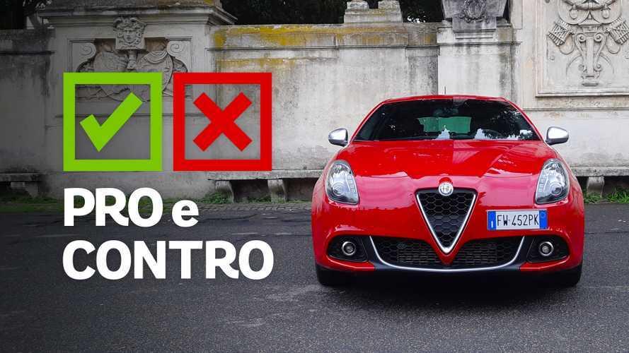 Alfa Romeo Giulietta 1.6 JTDM Super Launch Edition, pro e contro