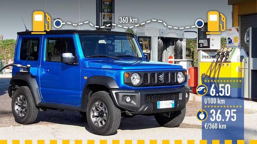 Suzuki Jimny, le test de consommation réelle
