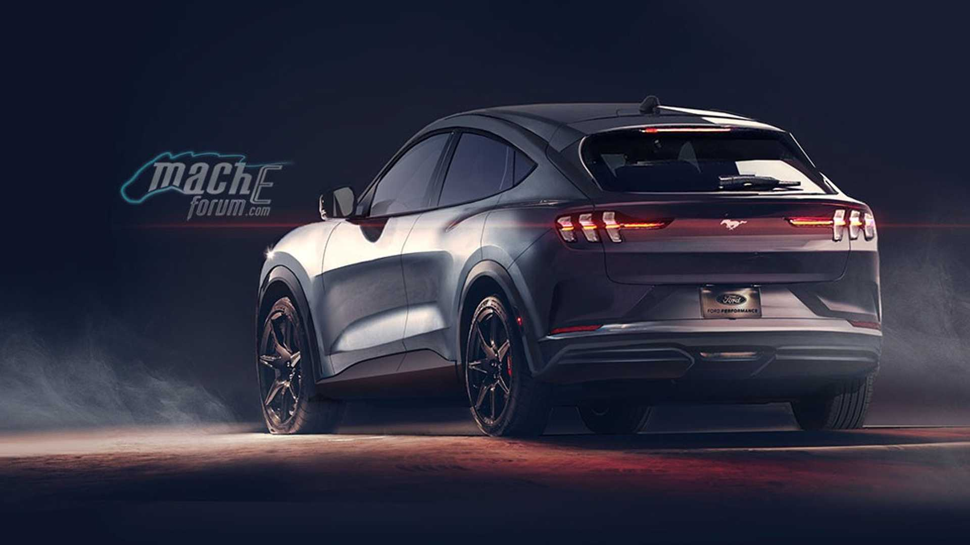 2020 Ford Mustang Mach-E 22