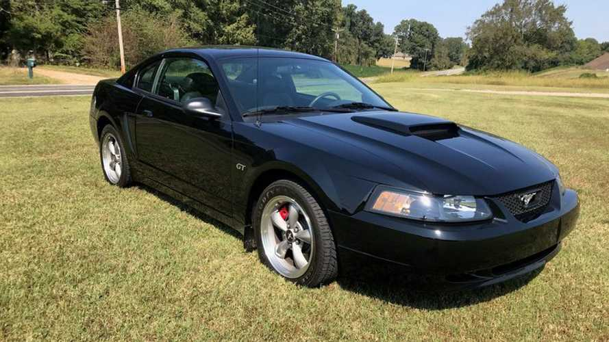 Rare Black 2001 Ford Mustang Bullitt Up For Auction