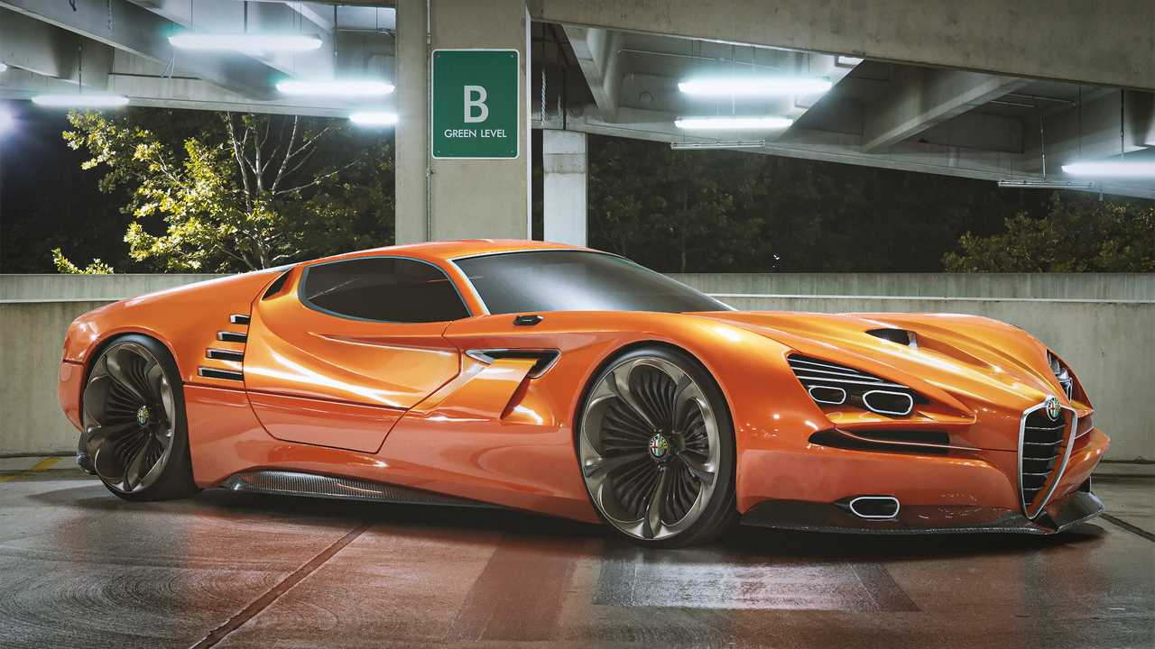 Alfa Romeo Montreal Vision GT Concept Has Our Jaws On The Floor