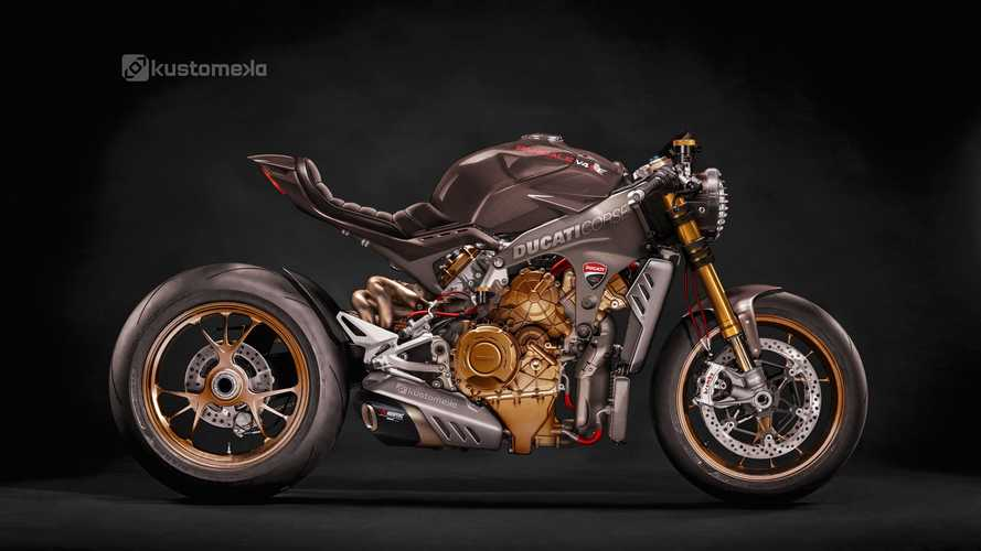 Artist Imagines The Ducati Streetfighter V4 Before World Premiere