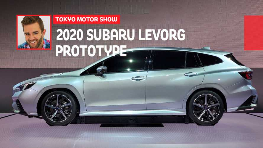 Subaru Levorg Prototype Arrives In Tokyo With New 1.8L Turbo Boxer