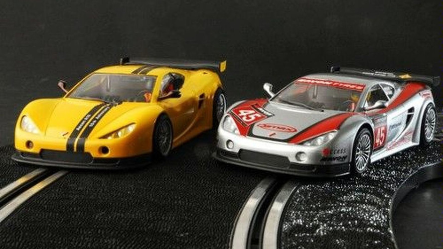 Ascari Supercar Hits Slot Car Tracks